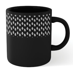 Raindrops Mug - Black