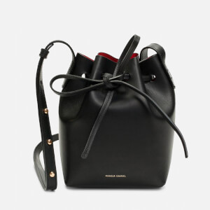 Mansur Gavriel Women's Mini Mini Bucket Bag - Black/Flamma