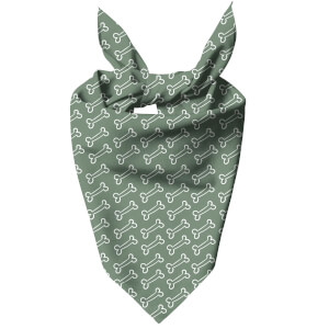 Green Bones Dog Bandana