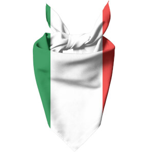 Italian Flag Dog Bandana