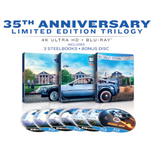 Back To The Future: The Ultimate Trilogy - Zavvi Exclusive 4K Ultra HD Limited Steelbook Edition (Includes 2D Blu-ray)