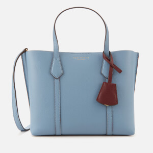 Tory Burch Women's Perry Small Triple-Compartment Tote Bag - Blue Yonder