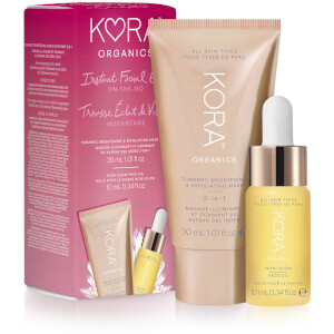 Kora Organics Instant Facial Glow On-The-Go (Worth $52.00)