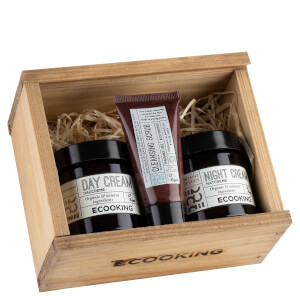 Ecooking Christmas Day and Night Cream and Scrub Set (Worth £68.00)