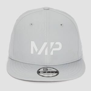 MP New Era 9FIFTY Snapback - Chrome/White