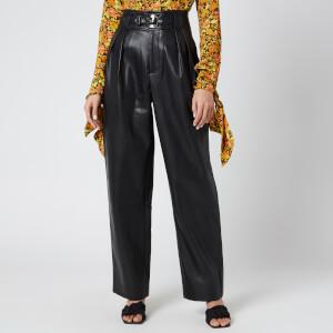 Simon Miller Women's Barr Sack Waist Trousers - Black