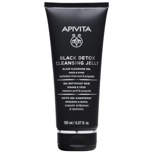APIVITA Black Detox Cleansing Jelly 5.07 fl.oz