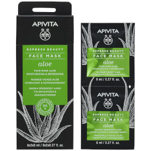 APIVITA Express Beauty Face Mask with Aloe 12 x 0.27 fl.oz