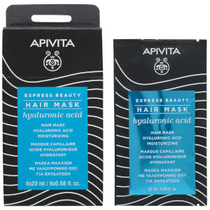 APIVITA Express Beauty Hair Mask with Hyaluronic Acid 6 x 0.68 fl.oz