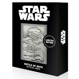 Star Wars Iconic Scene Collection Limited Edition Ingot - Battle for Hoth