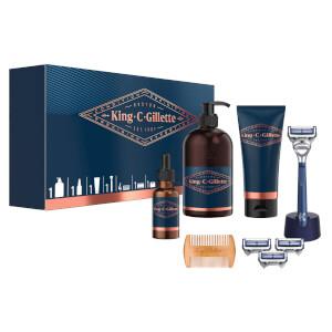 King C. Gillette Deluxe Geschenkset