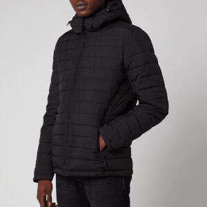 Superdry Men's Hooded Fuji Jacket - Black