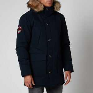 Superdry Men's Everest Parka Jacket - Eclipse Navy