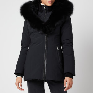 Mackage Women's Akiva-Bx Hooded Down Jacket - Black