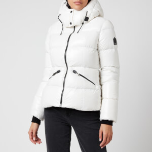 Mackage Women's Madalyn-R Light Down Jacket with Hood - Off White