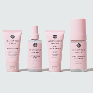 GLOSSYBOX Skincare Hydrate & Cleanse Set (Worth £80.00)