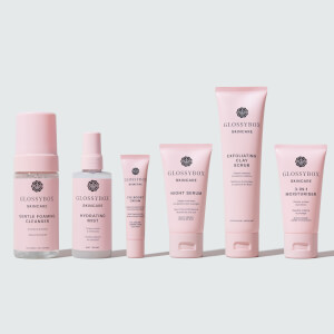 GLOSSYBOX Skincare Sensitive Skin Bundle (Worth $152.00)