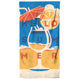 Drinks On The Beach Beach Towel