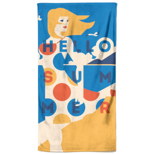 Summer Breeze Beach Towel
