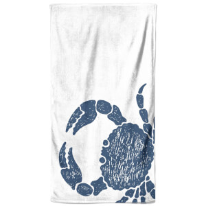 Hey Look, A Crab Beach Towel
