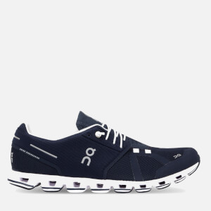 ON Men's Cloud Running Trainers - Navy/White
