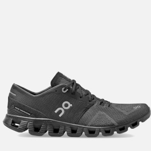 ON Men's Cloud X Running Trainers - Black/Asphalt