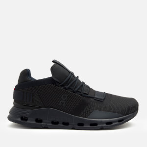 ON Men's Cloudnova Running Trainers - Black/Eclipse