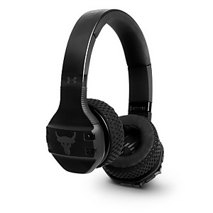UA Sport Wireless Train Project Rock – Engineered by JBL - Black On Ear headphones