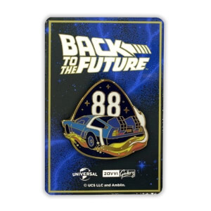 Back to the Future 88 Pin Badge