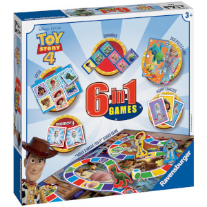 Ravensburger Toy Story 4 - 6 in 1 Games Box