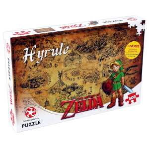 The Legend of Zelda - Hyrule Jigsaw (500 Pieces)