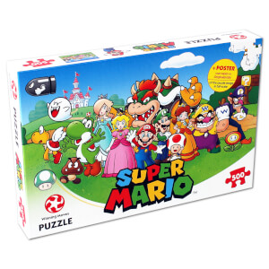 Super Mario & Friends Jigsaw