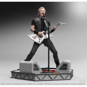 Knucklebonz Metallica Rock Iconz Statue James Hetfield Limited Edition 22 cm
