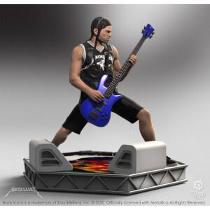 Knucklebonz Metallica Rock Iconz Statue Robert Trujillo Limited Edition 22 cm