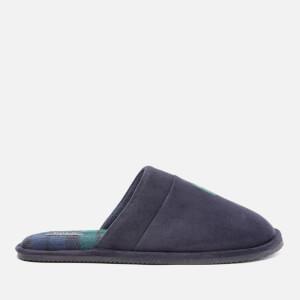 Polo Ralph Lauren Men's Klarence Suede Mule Slippers - Navy