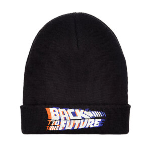 Back to the Future Beanie - Black