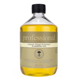 Professional Range Ginger and Juniper Warming Oil 500ml