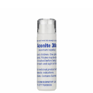 Aconite 30c Helios Homoeopathic Remedy - 100 Pills