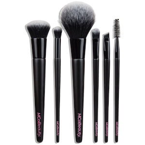 MCoBeauty Everyday 6 Piece Essentials Brush Set