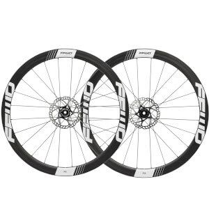 Fast Forward F4D DT350 Disc Brake Wheelset - Shimano - White Decal