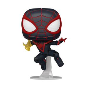 POP Games: Marvel's Spider-Man Miles Morales (Suit Classica) Con chase