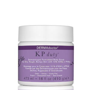 DERMAdoctor KP Duty Dermatologist Formulated Body Scrub 16 oz