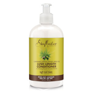 SheaMoisture Cannabis Sativa (Hemp) Seed Oil Lush Length Conditioner 384ml