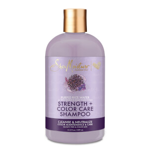 SheaMoisture Purple Rice Water Strength and Colour Care Shampoo 399ml