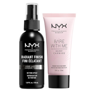 NYX Professional Makeup Radiant Primer & Setting Spray Duo Set