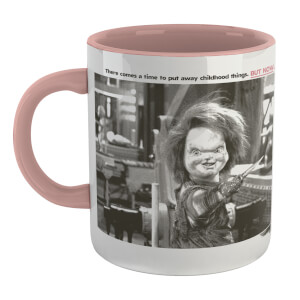 Chucky Childs Play 2 Mug Mug - White/Pink