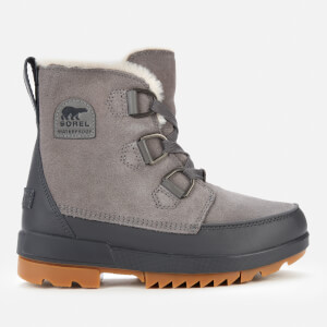 Sorel Women's Torino II Waterproof Suede Shell Boots - Quarry
