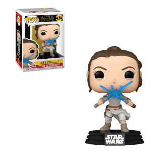 Figura Funko Pop! - Rey Con Dos Sables Láser - Star Wars Episodio IX: El Ascenso De Skywalker