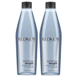 Redken Extreme Length Shampoo 300ml Duo