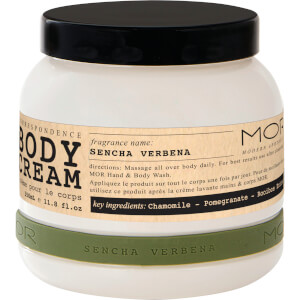 MOR Body Cream Sencha Verbena 350ml